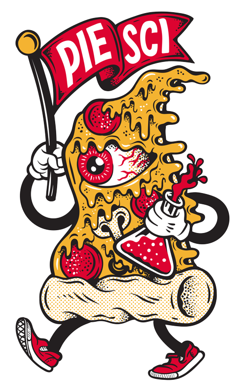 Pie-Sci Pizza sticker
